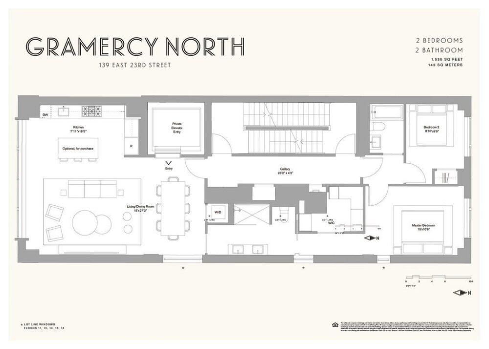 Gramercy North, 139 E 23rd St , 3 (4)